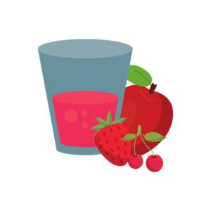 Jus de pomme fraise bio